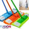 Microfibre Mop Cleaner Sweeper Extendable Wooden Laminate Tile Floor Wet Dry