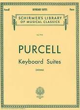 Purcell: Keyboard Suites for Piano Solo (Schirmer's Library of Musical Classics