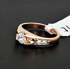 Modeschmuck-Ringe aus Edelstahl mit Kristall für Damen