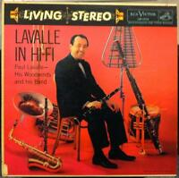 PAUL LAVALLE lavalle in hi fi LP Mint- LSP-1516 Living Stereo 1958 USA RCA