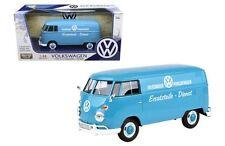 Motormax Volkswagen Type 2 (T1) Livraison Camion Porsche Wagen Bleu 1:24