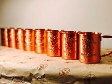 8 Tito's Vodka Copper Moscow Mule Mug Set Bulk Lot New 8x