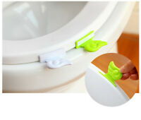 Wings Toilet Cover  Device Portable Bathroom Seat Clamshell Holder Accessory JR