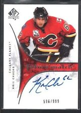 KRIS CHUCKO 2009/10 SP AUTHENTIC #254 RC ROOKIE AUTOGRAPH FLAMES #/999 $15