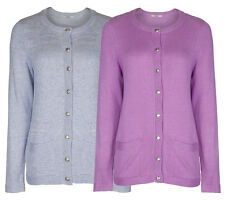 Marks and Spencer Button Medium Hip Length Women's Jumpers & Cardigans