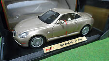LEXUS SC 430 Champagne 1/18 MAISTO 31658 voiture miniature