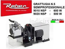 Indici15 Grattugia Elettrica INOX 9010NSP n°5 600W 0,80HP Professionale Reber