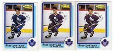 1X RUSS COURTNALL 1986-87 OPC #174 RC Rookie NRMT+ O Pee Chee Lots Available