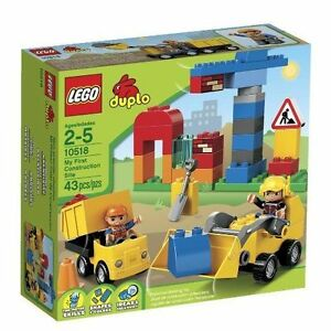 LEGO Duplo 10518 - My First Construction Site - 43 pieces - BRAND NEW!