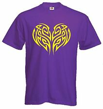 CELTIC HEART T-SHIRT - Pagan Druid Wicca Goth Gothic - Choice Of Colours