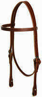 WEAVER LEATHER HEADSTALL BRIDLE HORSE WESTERN WORKING