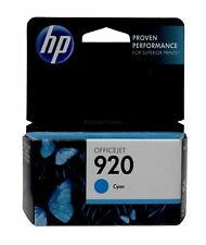 HP 920 Cyan Ink Cartridge CH634AN Genuine New