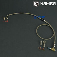 MAMBA Turbo Oil Feed Line Kit For Nissan Patrol TD42 GQ TD05H w/ Oil Filter