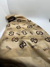 "Gucci Logo scarf / Wrap - Squared 40"""