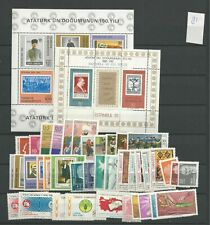 1981 MNH Turkey year collection postfris**
