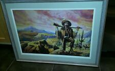 Bill Ahrendt LE S/N Print-Arizona Charlie-Well Listed Artist-Framed & Matted