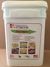 NuManna Food Grab-n-Go Bucket - GMO Free, New Inventory, Free Shipping