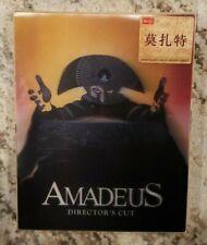 AMADEUS Blu-ray Steelbook HDZeta Silver Label Full Slip Booklet Photo Cards NEW!
