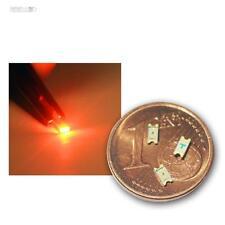 50 SMD LEDs 1206 Orange, mini SMDs SMT LED oranje arancione oransje naranja
