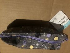 Yoobi SilverPencil Case With Strap - - 10� X 3� X 2 1/4� - Stars And Moon