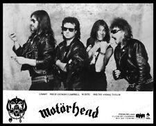"8x10 Print Motorhead English Rock Band Ian ""Lemmy"" Kilmister Founder #2017892"