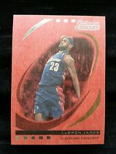 LeBRON JAMES 2006-07 TOPPS TRADEMARK MOVES RED WOOD #/35! CAVALIERS RARE INSERT!