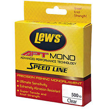 LEW's APT Monofilament Speed Fishing Line 10 lbs 500 Yards LAPTM10CL Clear
