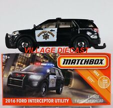Matchbox Ford Contemporary Manufacture Diecast Police Vehicles Ebay