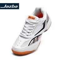Jazba Mens Geckor 1.0 Indoor Badminton Tennis Squash Sports Shoes White Size 9