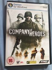 Company Of Heroes Pc Dvd With Instruction Manual Windows XP Vista