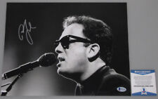BILLY JOEL Hand Signed 11'x14' Photo + PSA BECKETT COA * BUY GENUINE *
