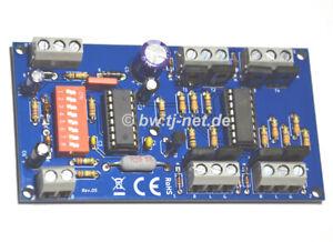 Magnetartikeldecoder Motorola*-Datenformat, Weichendecoder - Signaldecoder