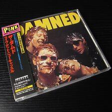 The Damned - Damned Damned Damned JAPAN CD Mint W/OBI TECW-20196 #AA04
