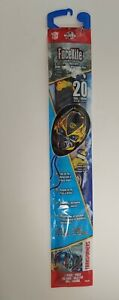 XKITES FaceKite Tranformers BumbleBee 20 Inch Poly Kite With Sky Tails New