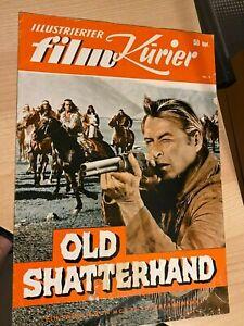 Illustrierter Film Kurier Nr. 9 - Karl May - Old Shatterhand - gelocht