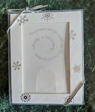 Snowflake Photo Gift Tags / Easels, by Picture People, Box of 10, Nib