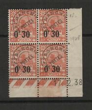 Algérie 4 timbres préoblitérés coin daté 17.2.38 /T3512