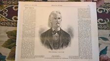 1889 Druck 87 Robert Hamerling Dichter Kirchberg am Walde Graz