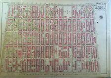 1907 PARK SLOPE WINDSOR TERRACE BROOKLYN NY PRESIDENT ST-PROSPECT AV ATLAS MAP