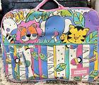 Vintage+Baby+Boom+Diaper+Bag+Multicolor+Jungle+Theme+Pink%21