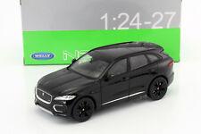 Jaguar F-Pace Baujahr 2016 schwarz 1:24 Welly