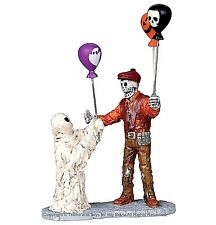 Lemax 02800 BOOLLOON SELLER Spooky Town Figurine Halloween Decor Carnival I