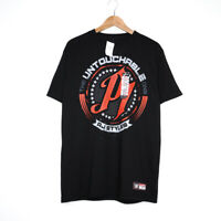 The Untouchable One AJ Styles Hard To Follow Black WWE Mens T-Shirt Size M NWT