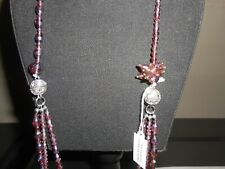 """Park Lane Jewelry, """"MAGNIFICEN"""" NECKLACE  Glass Beads/Crystals, NEW!!"""