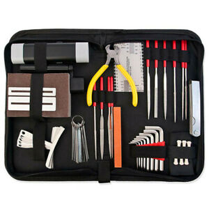 Guitar Repair Wrench Set Guitar Care Tool Set Luthier Maintenance Kit with case