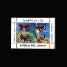 LIBYA, Sc #866A, MNH, 1981, S/S, Butterflies, Insects, CL039F