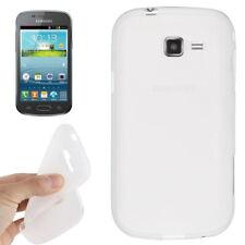 TPU Case Pure Colour in transparent für Samsung S7572 Galaxy Trend II Duos