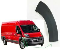 New 2014-2018 Ram ProMaster Right Front Bumper End Cap Flare Trim Molding R Side