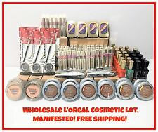 Wholesale L'OREAL PARIS Cosmetic 100x Lot MANIFESTED! FREE SHIPPING! ASSORTED!