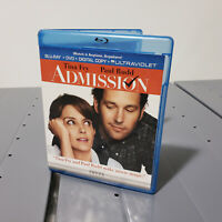 Tina Fey and Paul Rudd in ADMISSION Blu-Ray DVD 2 Disc Combo BluRay FREE SHIP